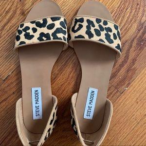 Steve Madden Corey Leopard Sandal